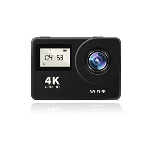 CLN Sport-Kamera, Mini-4K HD WiFi Dual-Screen-30fps Helm wasserdicht Sport DV-Kamera mit Fernbedienung kann Selbstauslöser Sein