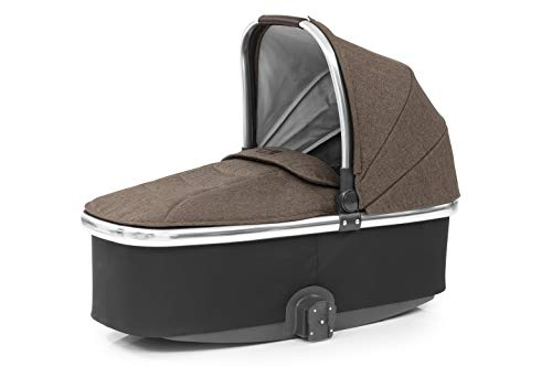 Oyster3/ Oyster Zero Carrycot, Truffle On Mirror Frame O3CCTR