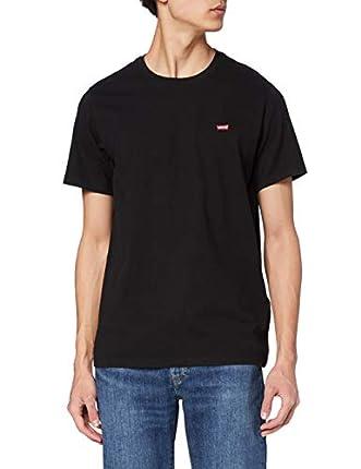 Levi's SS Original Hm tee Camiseta, Cotton + Patch Black, L para Hombre