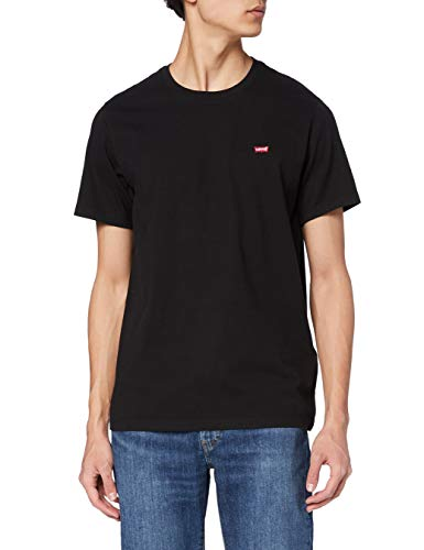 Levi's SS Original Hm tee Camiseta, Cotton + Patch Black, M para Hombre