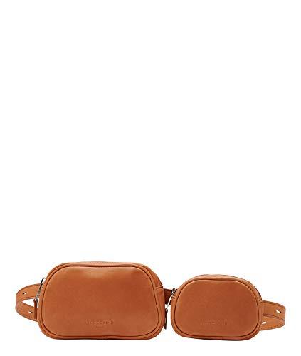 Liebeskind Berlin Jodie Belt Bag Umhängetasche, Medium (10 cm x 31.5 cm x 4.5cm), golden amber
