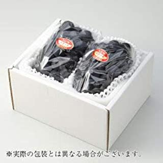岡山県産 種なしぶどう 『ニューピオーネ』 秀品 大粒 2房 (約500g×2) 化粧箱入り