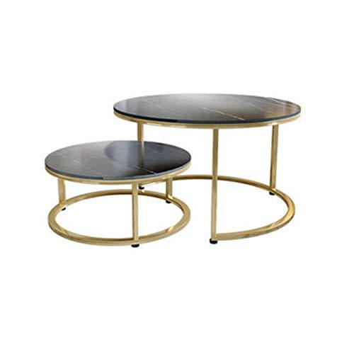 Tavolino da Salotto Moderno Tavolino da Salotto Moderno in Ardesia Tavolino da caffè Industriale, Struttura in Acciaio Resistente Ad Alta Senza Vernice Cassetti Ecologici Robusto Durevole