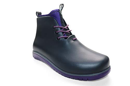 Ccilu Womens Panto Waterproof Ankle Rain Boots