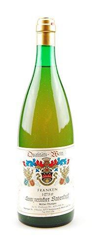 Wein 1975 Sommeracher Katzenkopf Müller-Thurgau