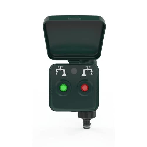 Woox 701198 - Control inteligente de riego del jardín, control por voz Alexa, R7060