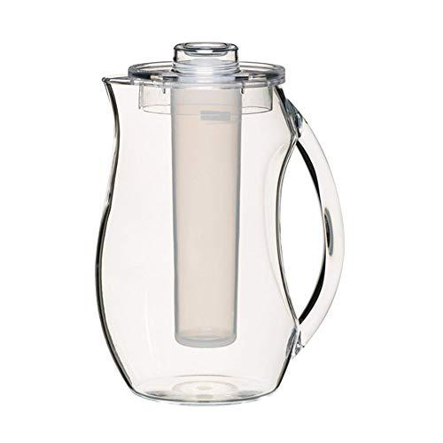 Kitchen Craft KCPCICEJUG - Jarra de policarbonato con cilindro para congelar y tapa , 2,3L