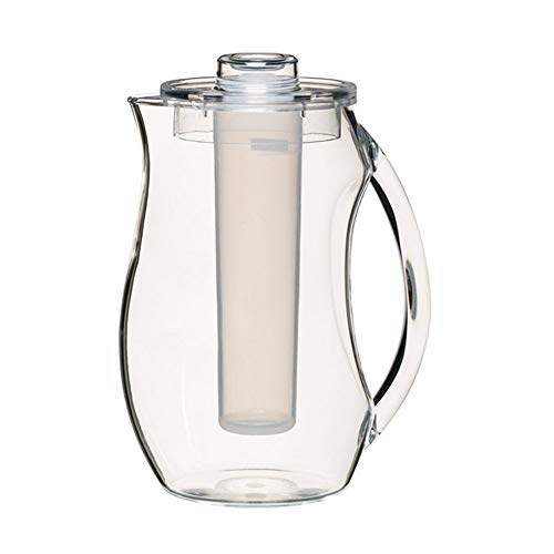 Kitchen Craft Coolmovers Polycarbonate Jug with Ice Core and Lid, 2.3 Litres