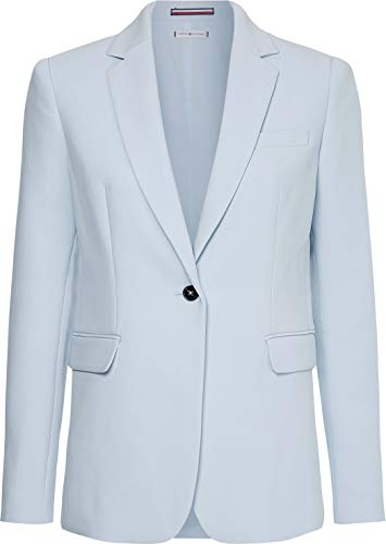 Tommy Hilfiger Core Suiting SB Blazer, Blue, 44 para Mujer