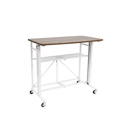 Origami Up Down Stand desk RDEA-01 White, Large