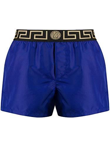 Versace Luxury Fashion Herren ABU01022A232415A1343 Blau Polyester Badeboxer | Frühling Sommer 20