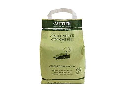 Cattier Arcilla Verde Triturada - 3 kg (CAT002)