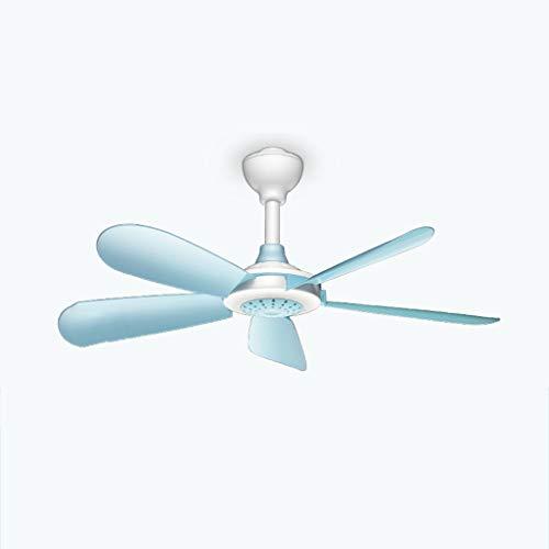 Ventilador eléctrico Se Puede Colgar un pequeño Ventilador de Techo, silencioso, Ventilador de Brisa para Estudiantes, Ventilador de mosquitera, pequeño y Conveniente