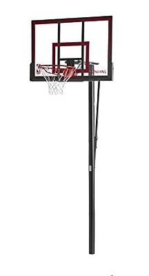 Spalding 88354PR NBA 48in Polycarbonate Backboard In-Ground Basketball System