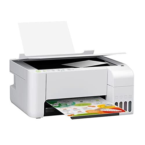 WJYZYHM Color Inalámbrico Todo En Una Impresora De Fotos De Inyección De Tinta, Negro, Impresión Desde Su Teléfono Inteligente En Una Impresora De Tinta Individual Conectada A Wi-Fi, Construida Para U