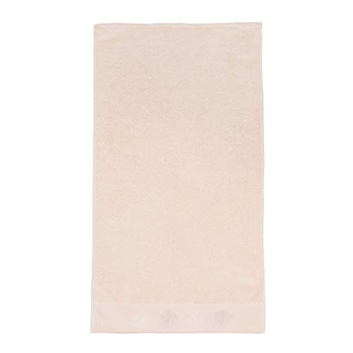 Sancarlos Hojas Toalla, 100% algodón Rizo, Crema, 30x50 cm