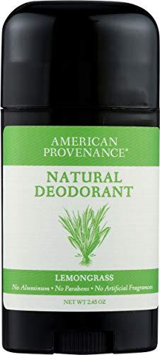 American Provenance Natural Deodorant, Lemongrass, 2.75 oz/75 gr
