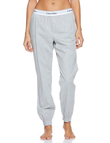 Calvin Klein Damen Jogger Sporthose, Grau (Grey Heather 020), W(Herstellergröße: S)