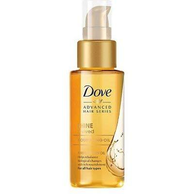 Dove Advanced Hair Series Traitement revitalisé pour un look professionnel lisse et brillant pour homme et femme de tous types de cheveux et couleurs, 1 paquet (50 ml)