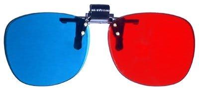 Clipon 3D Glasses Red/Cyan for The Final Destination 3D