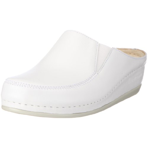 Berkemann Damen Celle Clogs, Weiß (weiß 101), 40 EU