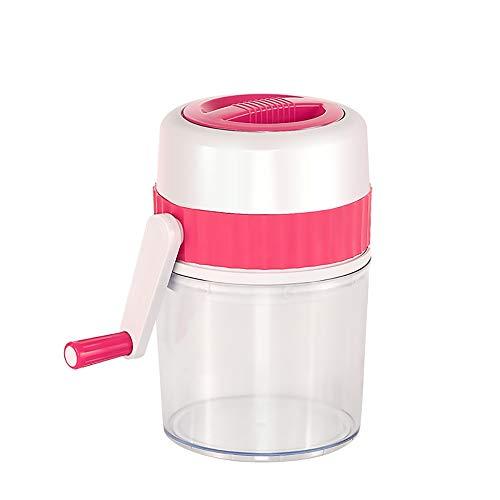 Mini trituradora de hielo manual del hogar