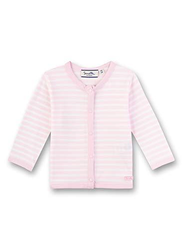 Sanetta Unisex Baby Sweatjacke, Rosa (rosa 3609), 80 (Herstellergröße:080)