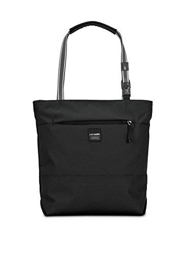 Pacsafe Kompakte Handtasche mit Diebstahlschutz Slingsafe LX200, schwarz (schwarz) - 688334025731