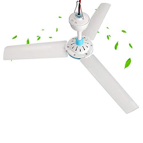 Ventilador de Techo pequeño, Ventilador Repelente de Mosquitos de disipación de Calor para Acampar en casa de 12v / 24v, batería de CC portátil portátil de 6w