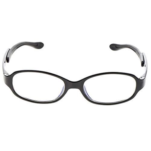 Hellery Kinder Bildschirmbrille Blaulichtfilter Computerbrille Augenschonende Bildschirm-Brille mit Blaulicht-Filter - Schwarz, wie beschrieben