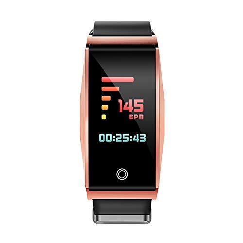 XZYP Fitness Tracker HR, Activiteitstracker Horloge met Hartslagmonitor, Waterdichte Stappenteller Horloge met Slaapmonitor, Calorie Counter, Zelfontspanner op afstand voor Kinderen, Vrouwen en Mannen