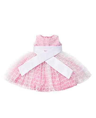 GULLIVER Vestido de Fiesta para Bebé Niña de Tul Ceremonia de 9 Meses - 2 Años