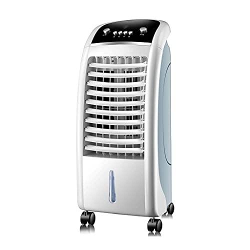 GONGFF Ventilador de Aire Acondicionado frío Individual Ventilador de Aire Humidificación Ventilador de frío doméstico Aire Acondicionado con Agua