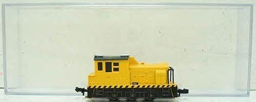 buena calidad Bachmann Bachmann Bachmann MDT Plymouth Switcher Industrial Locomotive - amarillo - N Scale by Bachmann Trains  descuento de bajo precio