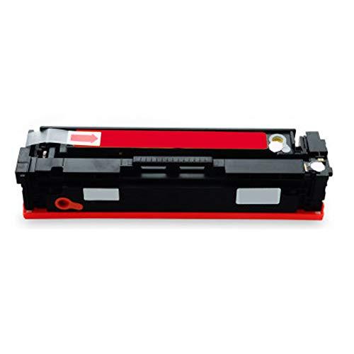 Cartucho de tóner compatible de repuesto para HP Cf540a 203a para impresoras HP Color Laserjet Pro M254dw M254nw M281fdn M281fdw con chip educativo suministros magenta