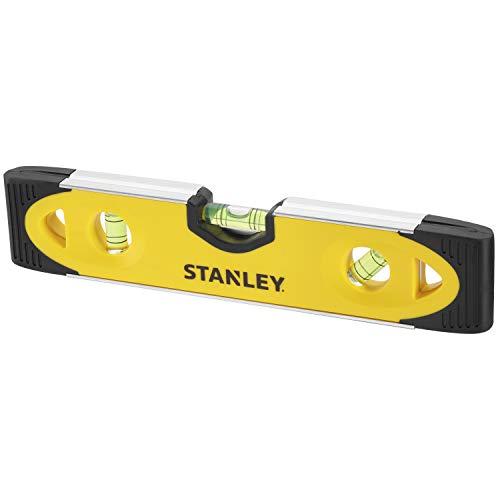 Stanley 0-43-511 Alto impacto 230mm V Base magnética, Amarillo