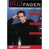 Homespun Donald Fagen - Concepts For Jazz/Rock Piano (Dvd) [並行輸入品]