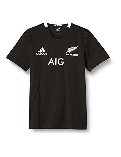 adidas AB Rep H tee Camiseta de Manga Corta, Hombre, Black, L
