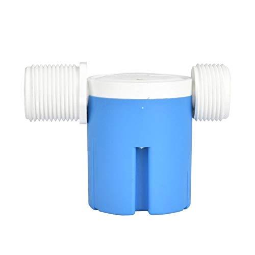 Válvula de flotador de filtro de agua Lado 1 pulgada de entrada incorporado en la válvula de control de nivel de agua de plástico válvula de flotador automático for piscina de la torre torre de agua s