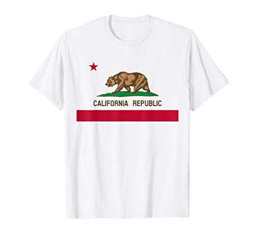 California Republic Flag Maglietta