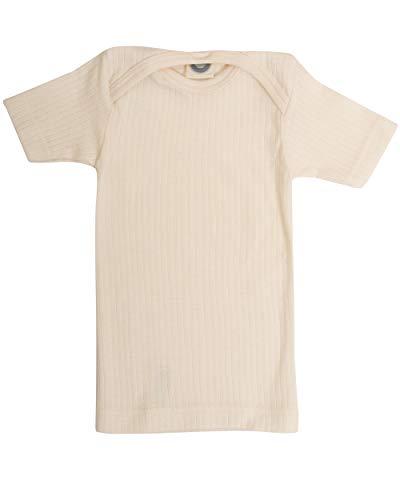 Cosilana, Shirt/Unterhemd Kurzarm, 45% Baumwolle (KBA), 35% Wolle (kbT), 20% Seide (50/56, Natur)