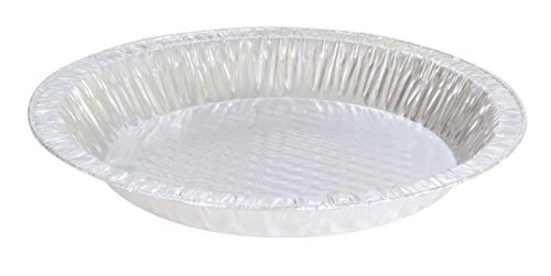 KitchenDance Disposable Aluminum Quilted Bottom Pie Pans