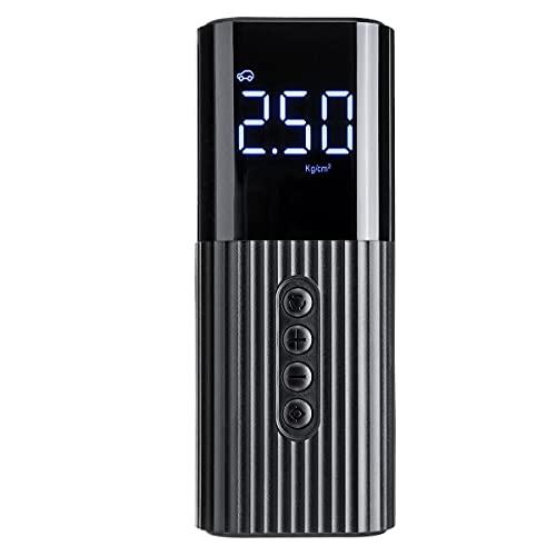 MNAD 12 V 71 PSI 60 W pantalla LCD con cable bomba de aire portátil inflador compresor de aire para motocicleta coche SUV