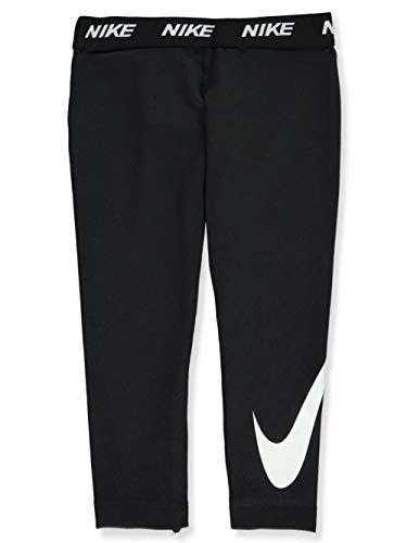 Nike Little Girls Dri-Fit Leggings (Sizes 4 - 6X) - black, 6x
