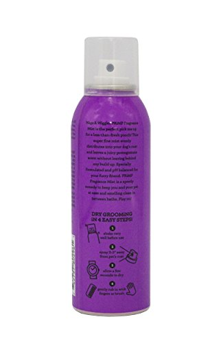 Wags & Wiggles Fragrance Mist in Pomegranate Passion | Dog Deodorizing and Freshening Cologne Spray , 3.5 Ounces (FF9801)
