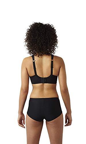 Panache Women's Plus Size Underwired Sports Bra, Black, 34DD