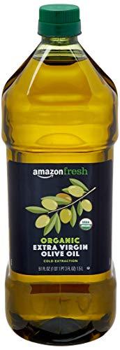 AmazonFresh Organic Extra Virgin Olive Oil, 51 Fl Oz