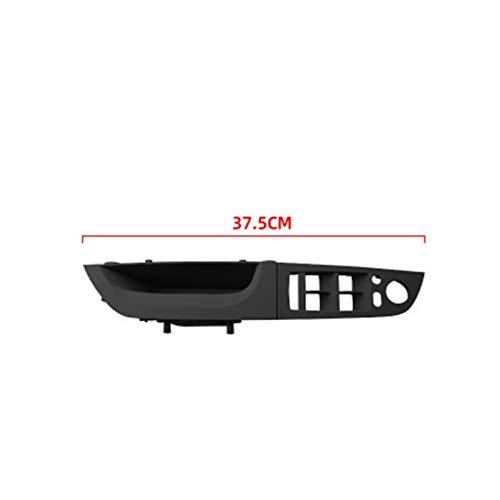 furong Kit de Paneles de manija Interior Interior Interior Ajuste para BMW E90 E91 3 Series 2004-2012 Sedan Tirador de sedán Accesorios para automóviles (Color : 37.5 cm Black 3 Pcs)