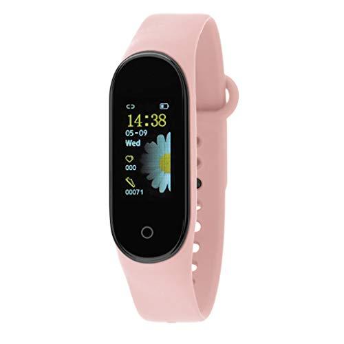 Nowley Brazalete Digital smartwatch Rosa m4
