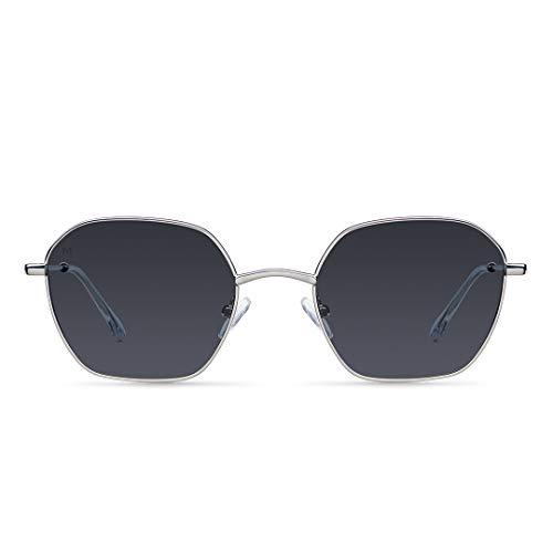MELLER - Adwin Silver Carbon - Gafas de sol para hombre y mujer